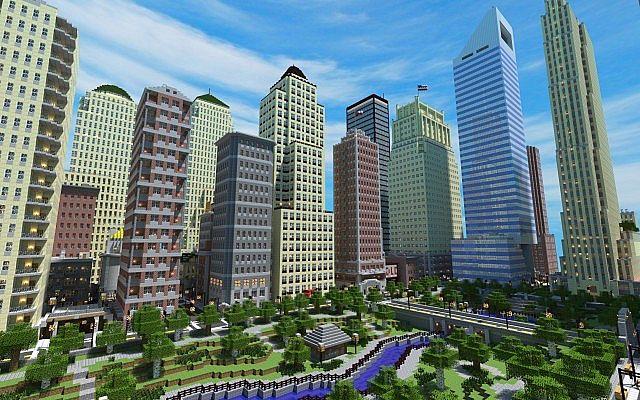 5 Biggest Minecraft City Maps Of All Times Minedit
